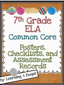 7th Grade ELA Common Core Pack