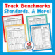 7th Grade ELA, Common Core Standards-Based Student Data Notebook (Printable)