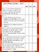 7th Grade ELA Data Notebook (Common Core)