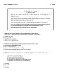 7th Grade ELA Standards-Based Assessment