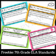 7th Grade ELA Standards I Can Statements