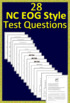 7th Grade NC EOG Test Prep Reading Assessments Collection NC Ready EOG