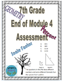 7th Grade End of Module 4 Assessment - Editable