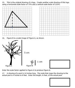 7th Grade End of Module 4 Assessment - Editable