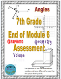 7th Grade End of Module 6 Assessment - SBAC - Editable