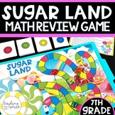 7th Grade End of Year Review Game