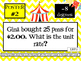 7th Grade End-of-the-Year Math Test Prep - Common Core Aligned
