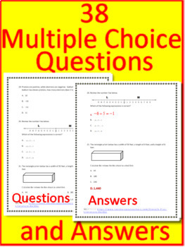7th Grade Engage NY Math Test Prep Practice Tests - Printable AND Paperless!