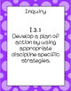 7th Grade English Language Arts (ELA) Standards South Carolina Posters
