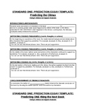 7th Grade Essay Writing Templates for Scaffolded Writing I