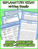 7th Grade Expository Essay Rubric, Outline and Mentor Text