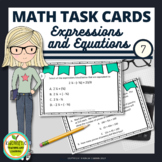 7th Grade Expressions and Equations Task Cards