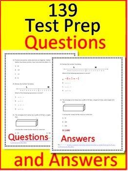 7th Grade FSA Math Test Prep Bundle - Practice Tests and ...