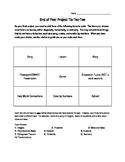 7th Grade Final Project Tic-Tac-Toe