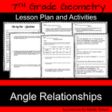 7th Grade Geometry – Angle Relationships