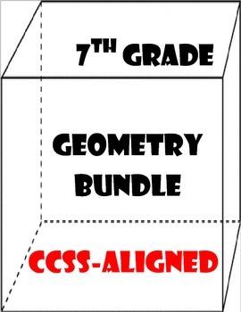 7th Grade Geometry Bundle