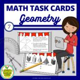 7th Grade Geometry Task Cards