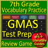 7th Grade Georgia Milestones Test Prep EOG Vocabulary Practice Review Game GMAS