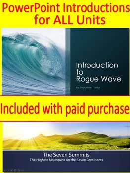 7th Grade HMH Collections 1 - Bold Actions Literature Bundle