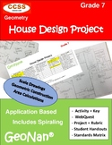7th Grade House Design Project