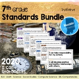 7th Grade Indiana Standards:  I Can Statement Bundle
