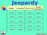 7th Grade Jeopardy Review Game
