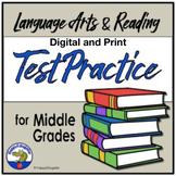 TEST PREP Test Practice ELA Middle Grades Language Arts and Reading