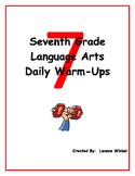 7th Grade Language Arts Daily Warm-Ups