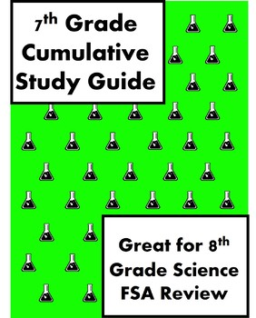 7th Grade Life Science Cumulative Study Guide