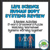 7th Grade Life Science Human Body Systems Review