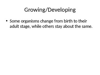 7th Grade Life Science PowerPoint