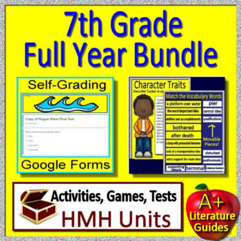 7th Grade HMH Collections Full Year Curriculum
