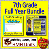7th Grade HMH Collections Full Year Curriculum -  Literature Bundle - HRW