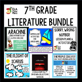 7th Grade Literature Collection Using HMH Collections Textbook