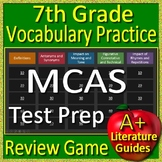 7th Grade MCAS Test Prep Vocabulary Practice Review Game