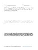 7th Grade Math: 7.EE.B.4.a Word Problems