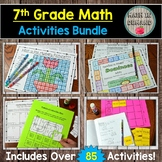7th Grade Math Activities