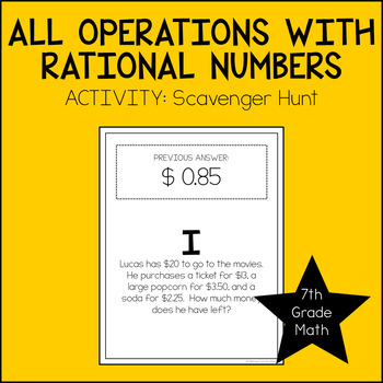 Order Of Operations Rational Numbers Teaching Resources Teachers