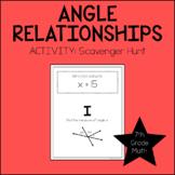 7th Grade Math Angle Relationships Activity
