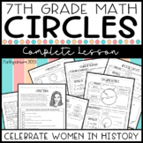 Circumference & Area of Circles Complete Lesson