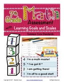 7th Grade Math Assessment with Learning Goals & Scales - A