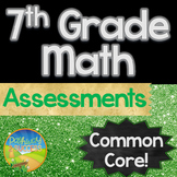 7th Grade Math Assessments