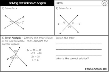 7th Grade Math Bell Ringers, Warm-Ups, Exit Tickets