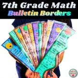 7th Grade Math Bulletin Board Borders