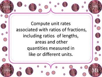 7th Grade Math CC Standards
