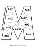 7th Grade Math Classroom Data Tracker - TEKS