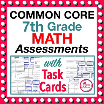 7th grade common core math assessments 7th grade by math to the core. Black Bedroom Furniture Sets. Home Design Ideas