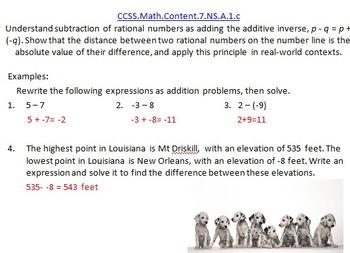 7th Grade Math Common Core Blitz