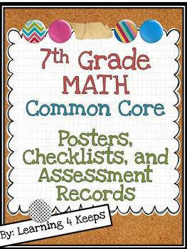 7th Grade Math Common Core Pack