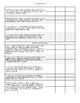 7th Grade Math Common Core Standards Assessment Checklist
